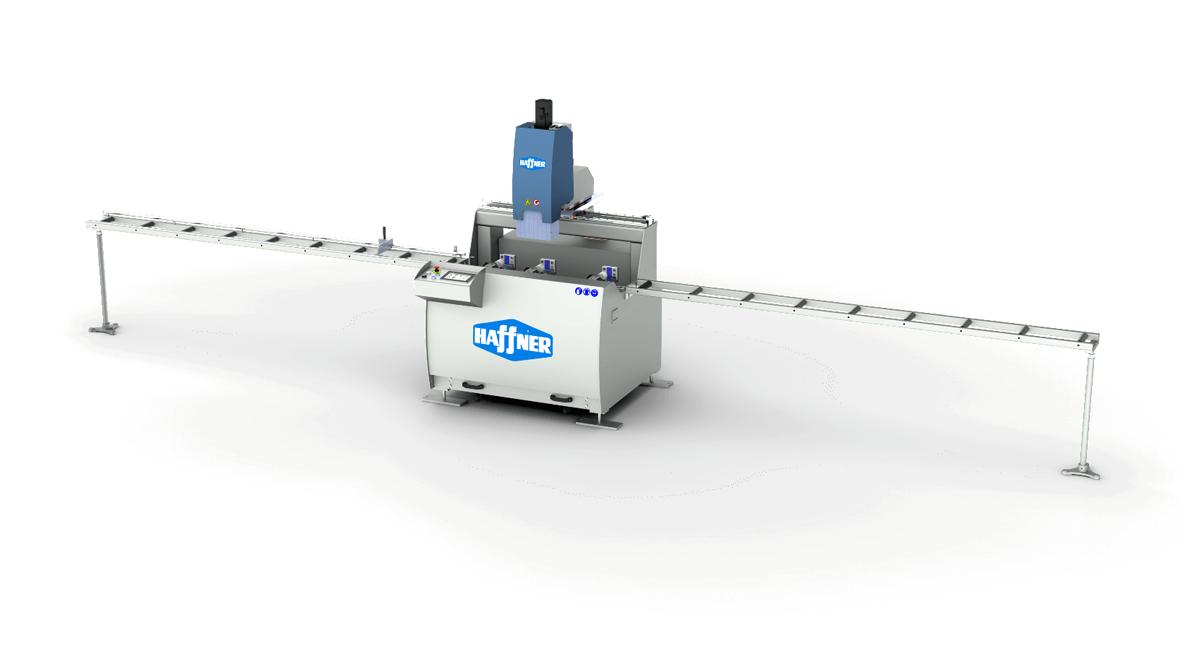 Haffner masine rezno obradni centar pvc mac 140