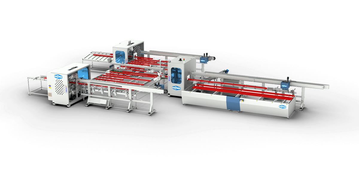 Haffner masine rezno obradni centar pvc nr 242