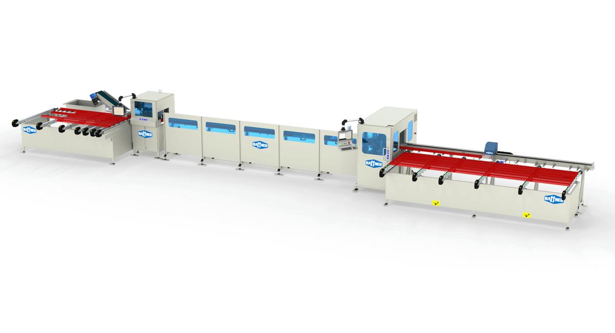 Haffner masine rezno obradni centar pvc sc 222