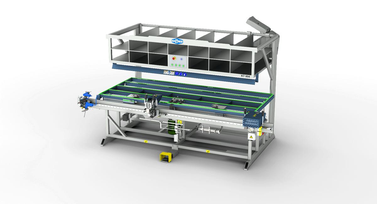Haffner masine za montazu pvc kt 804