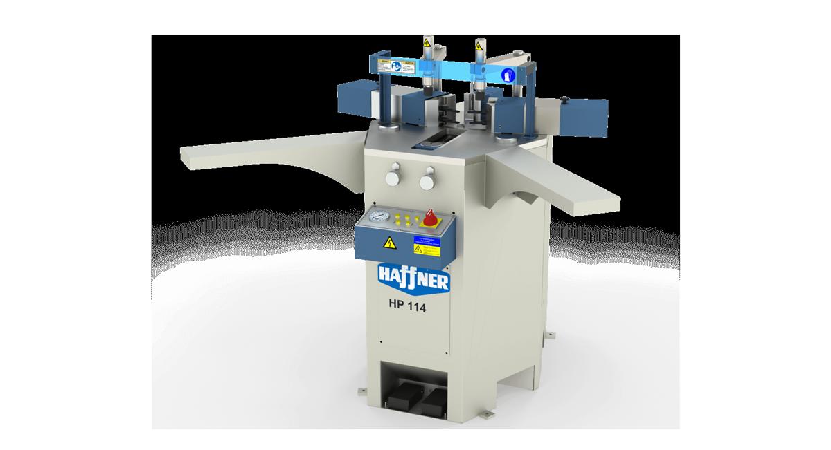Haffner masine za spajanje alu uglova hp114
